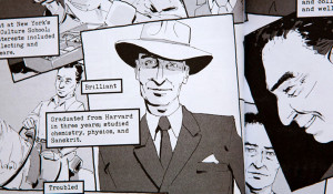 Comic Drama: Illustrating the Manhattan Project